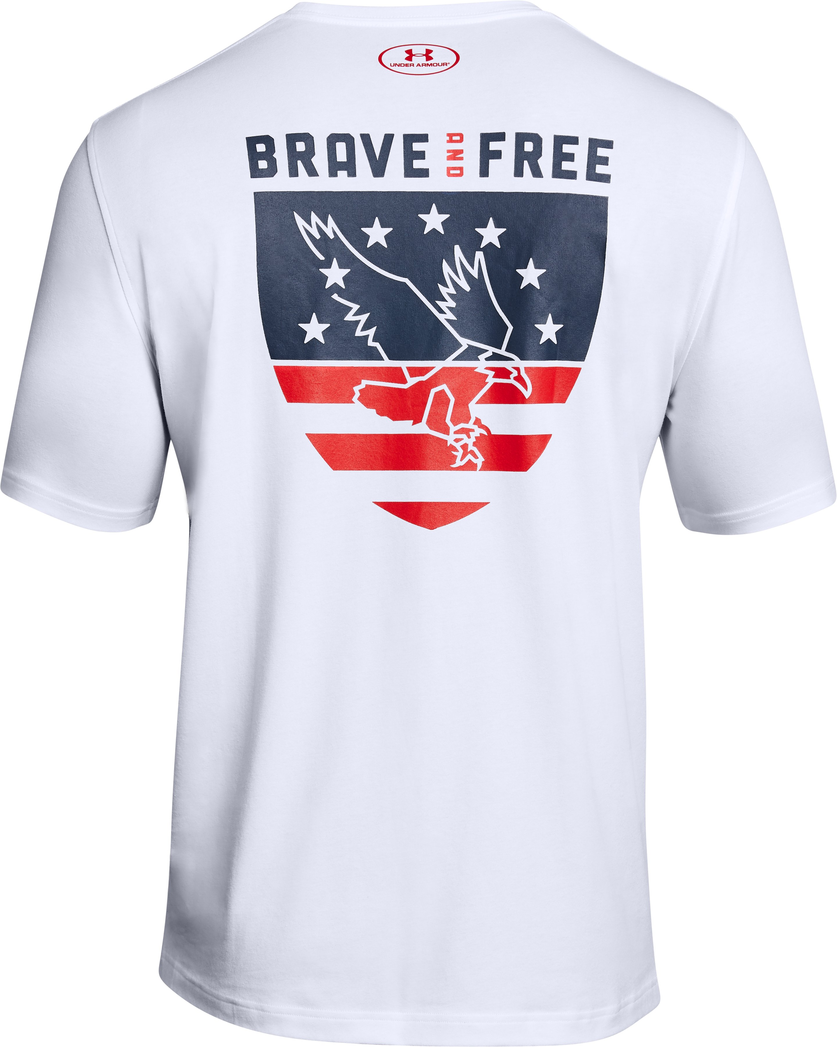 Men's UA Freedom USA Eagle T-Shirt, White