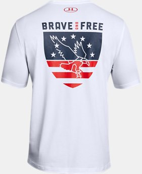 New Arrival Men's UA Freedom USA Eagle T-Shirt  2 Colors $25
