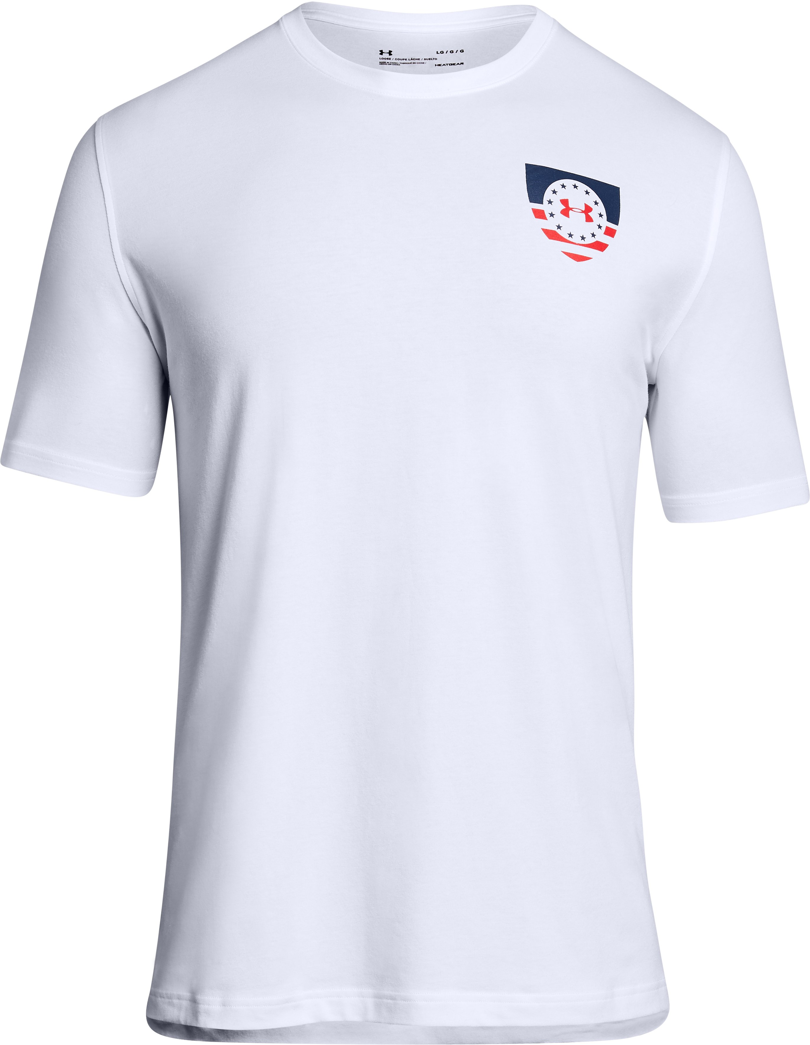 Men's UA Freedom USA Eagle T-Shirt, White,