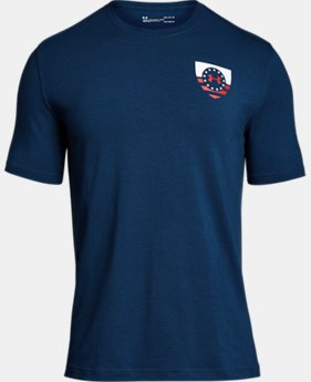 Men's UA Freedom USA Eagle T-Shirt  2  Colors $25