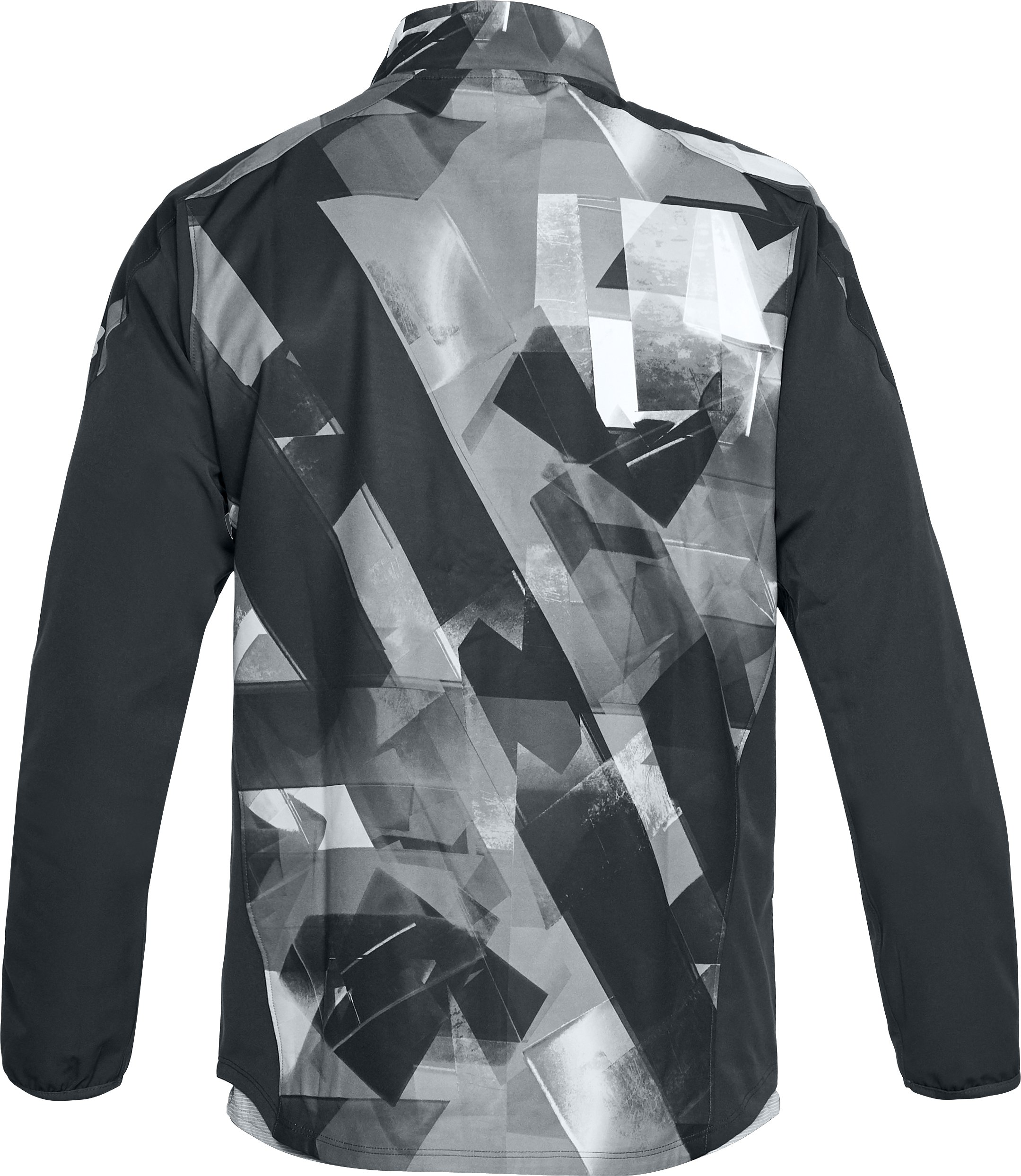 Men's UA Storm Out & Back Printed Jacket, ANTHRACITE, undefined