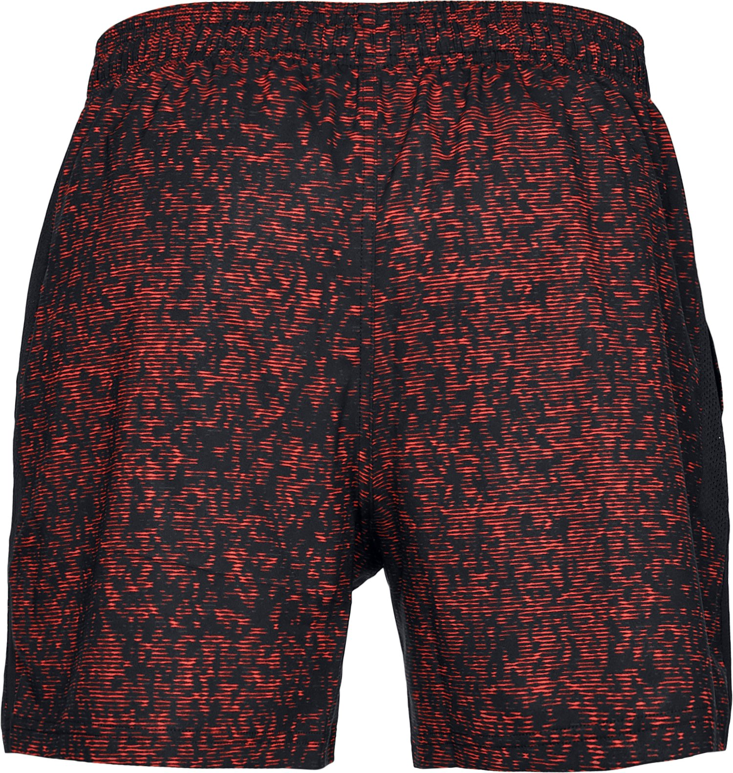 "Men's UA Launch SW 5"" Printed Shorts, Black ,"