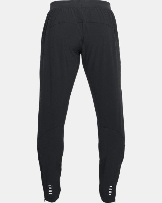Men's UA Outrun The Storm Pants, Black, pdpMainDesktop image number 4