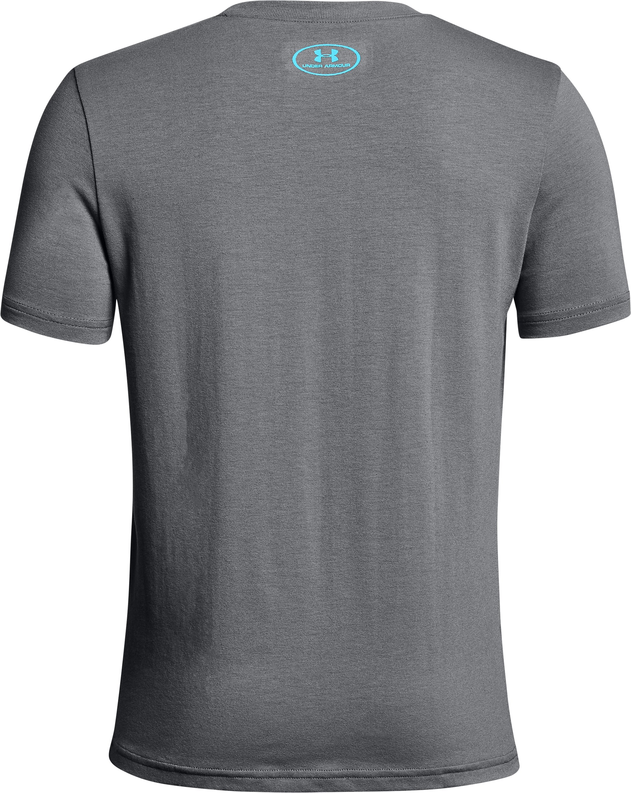 Boys' UA Rapid Logo T-Shirt, Graphite,
