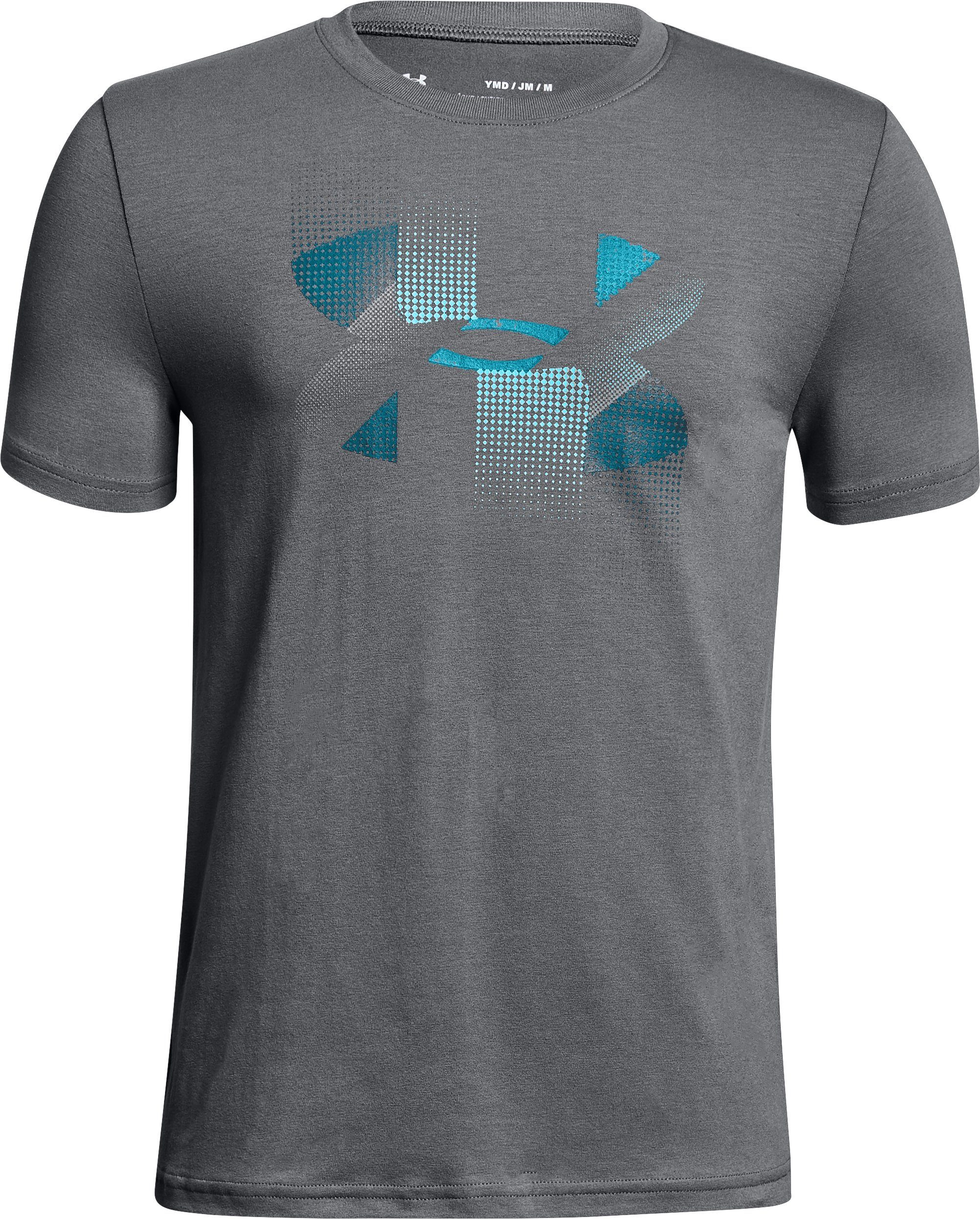 Boys' UA Rapid Logo T-Shirt, Graphite