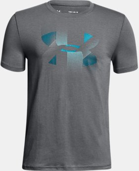 Boys' UA Rapid Logo T-Shirt LIMITED TIME: FREE U.S. SHIPPING 1  Color Available $20