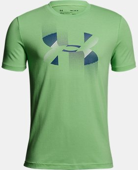 Boys' UA Rapid Logo T-Shirt  1  Color Available $25