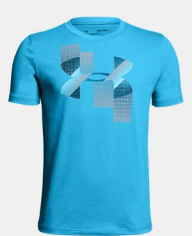 New Arrival Boys' UA Rapid Logo T-Shirt   $20