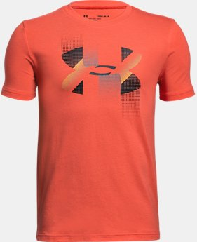 Boys' UA Rapid Logo T-Shirt  1 Color $20