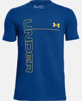 Boys' UA Front To Back T-Shirt  3  Colors $25