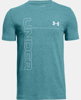 Boys' UA Front To Back T-Shirt  3  Colors Available $15