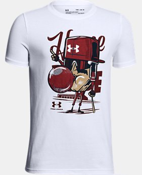 Boys' UA Home Plate T-Shirt  1 Color $20