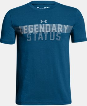 New Arrival Boys' UA Legendary Status T-Shirt  1 Color $25