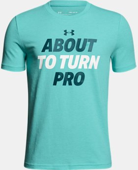 Boys' UA About To Turn Pro T-Shirt  1  Color $20