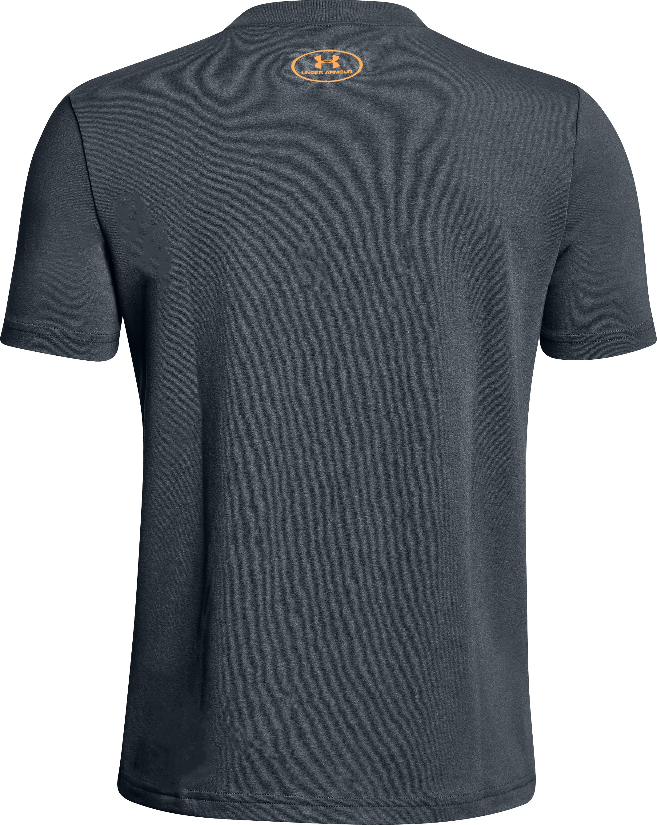Boys' UA Never Back Down T-Shirt, STEALTH GRAY, undefined