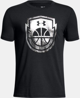 Boys' UA Basketball Icon T-Shirt  4 Colors $20