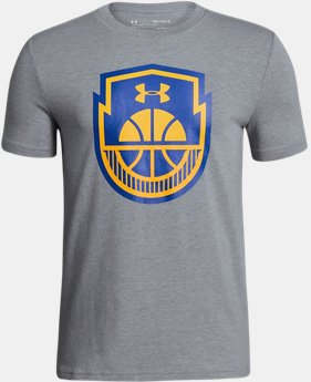 New Arrival Boys' UA Basketball Icon T-Shirt  1 Color $20