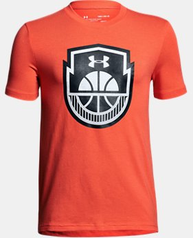 Boys' UA Basketball Icon T-Shirt LIMITED TIME: FREE U.S. SHIPPING 1  Color Available $20