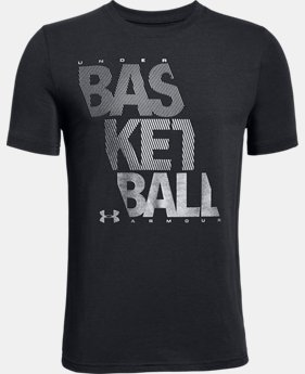 Boys' UA Bball Reflective T-Shirt  2  Colors $20