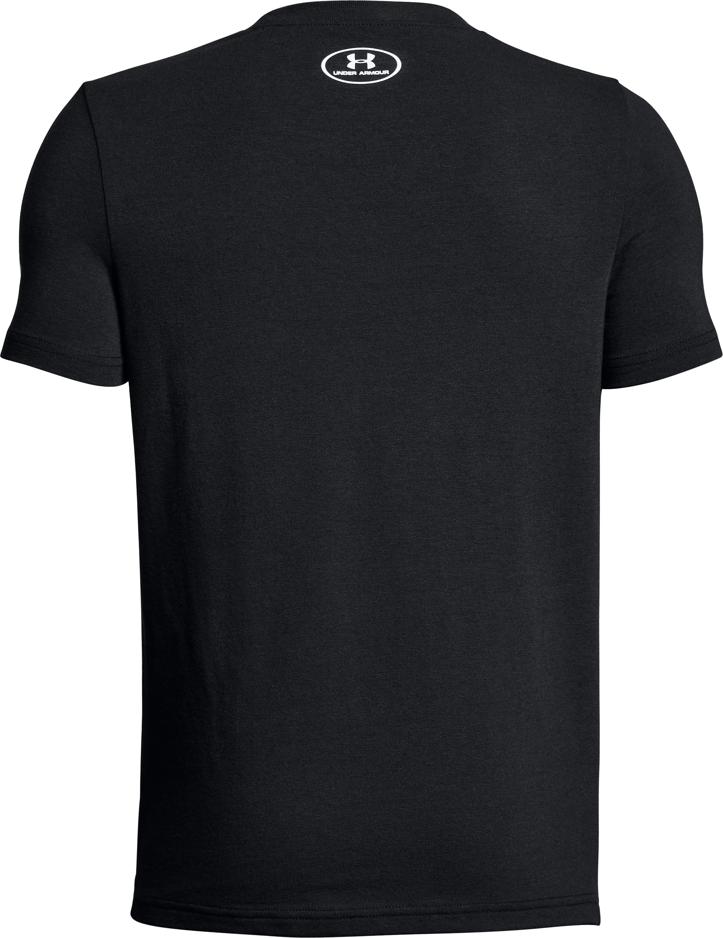 Boys' SC30 Logo T-Shirt, Black ,