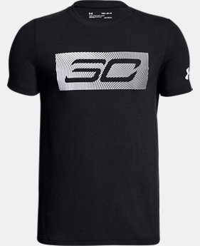 New Arrival Boys' SC30 Logo T-Shirt  1 Color $20