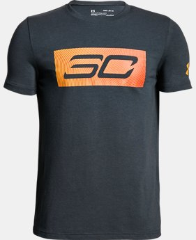 Boys' SC30 Logo T-Shirt  1  Color $20
