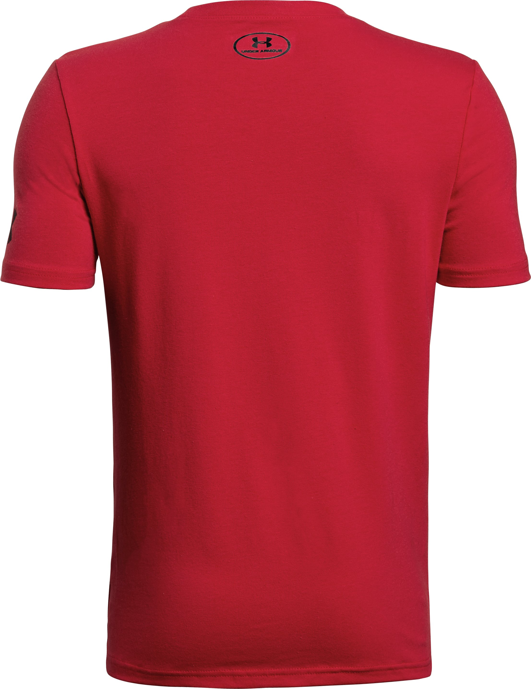Boys' SC30 Logo T-Shirt, Red, undefined