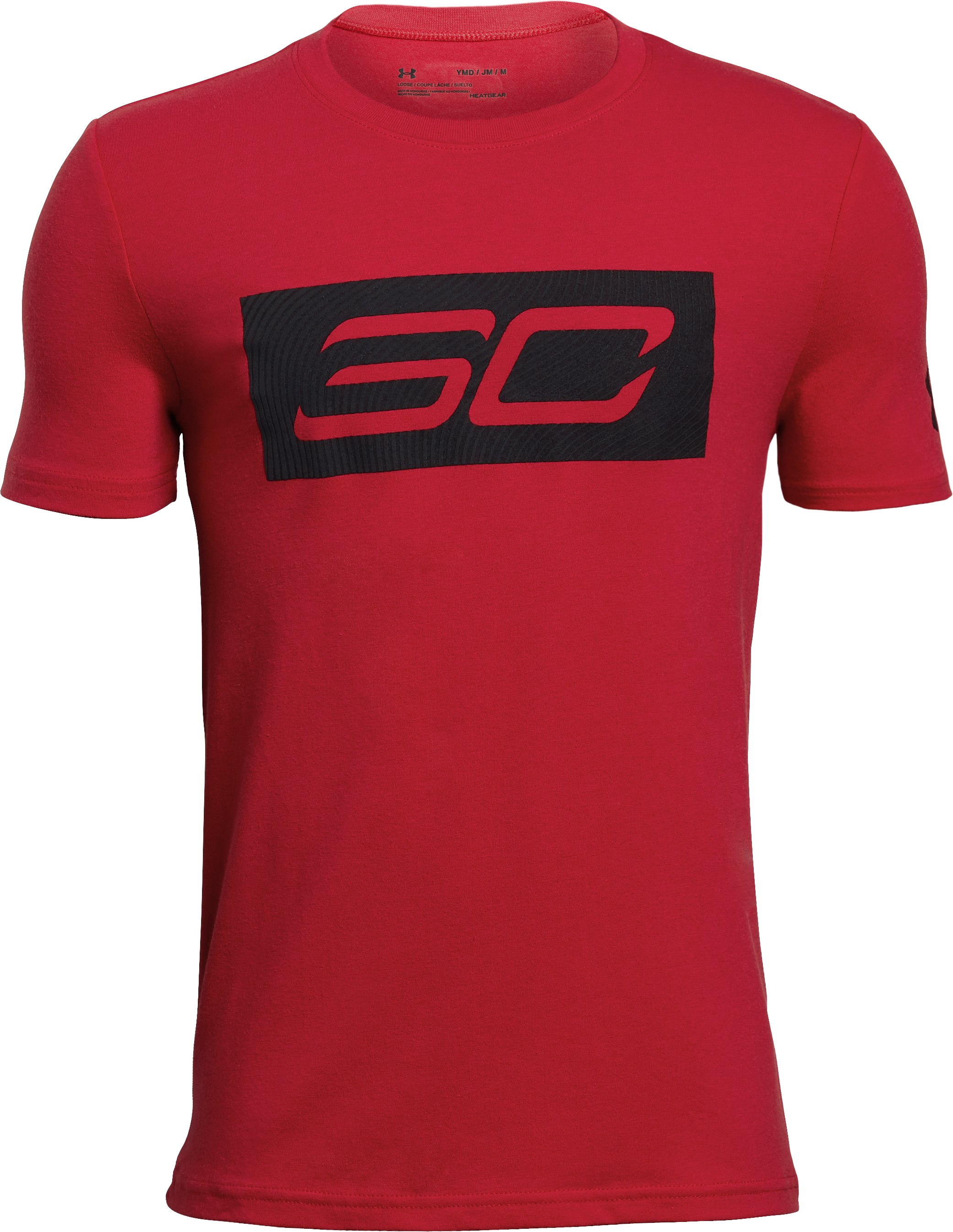 Boys' SC30 Logo T-Shirt, Red