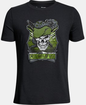 Boys' UA By Land T-Shirt  1  Color Available $20