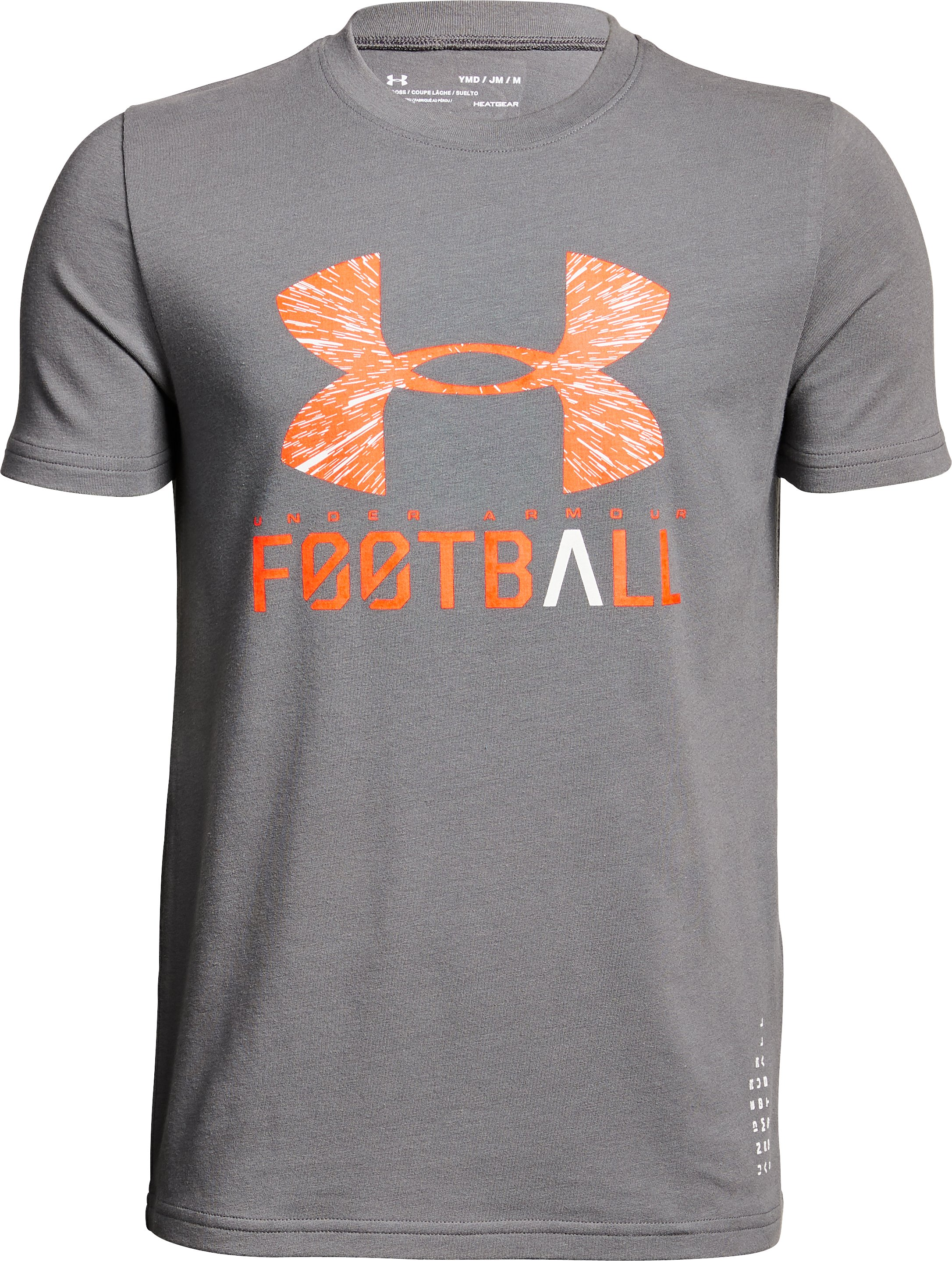 Boys' UA Football Lockup T-Shirt 2 Colors $20.00
