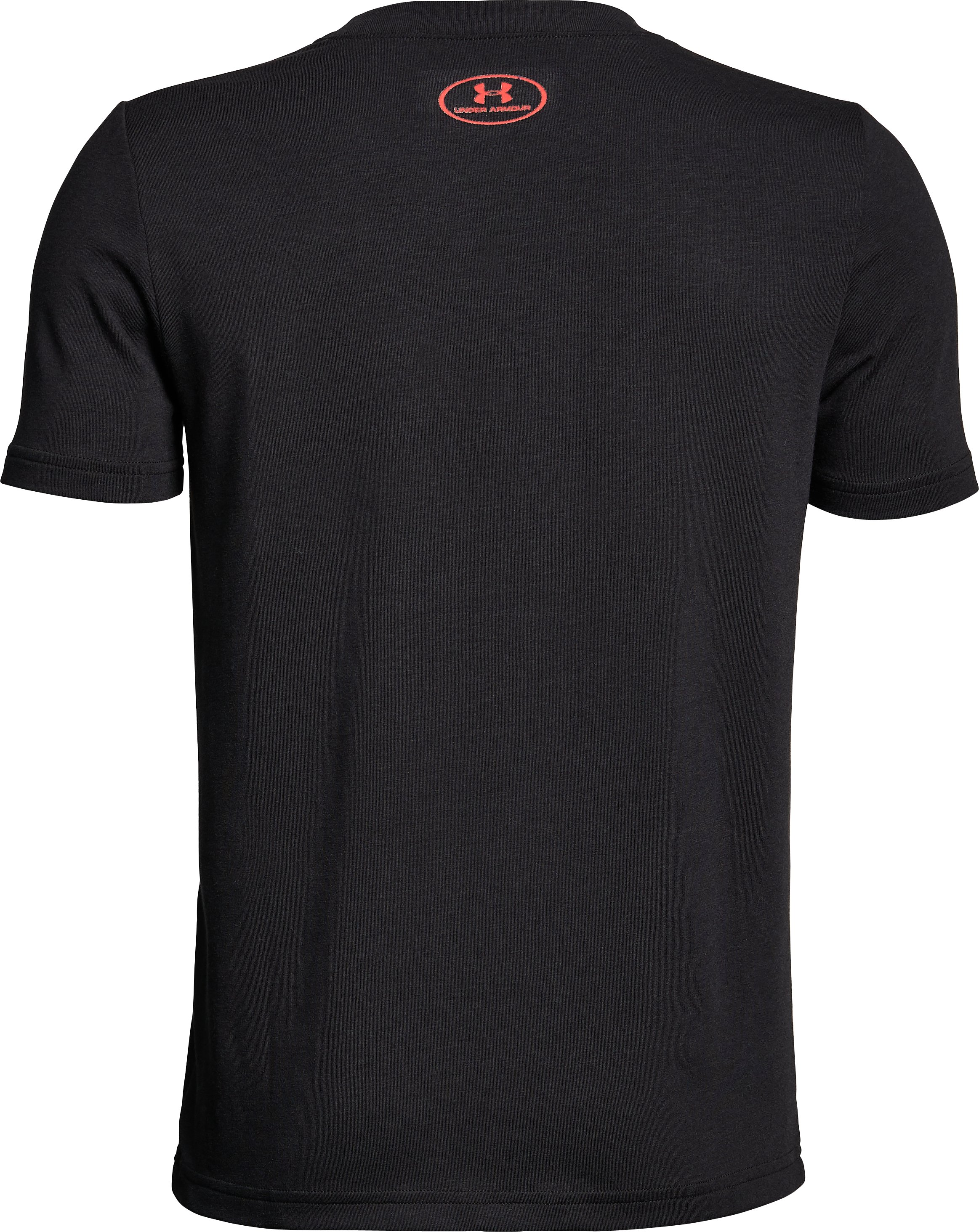 Boys' UA Unstoppable Speed T-Shirt, Black , undefined