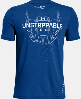 Boys' UA Unstoppable Speed T-Shirt  1  Color Available $15