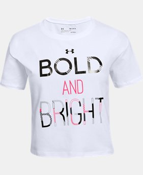 New Arrival Girls' UA Bold & Bright T-Shirt  1 Color $20
