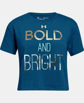 New Arrival Girls' UA Bold & Bright T-Shirt  2 Colors $20