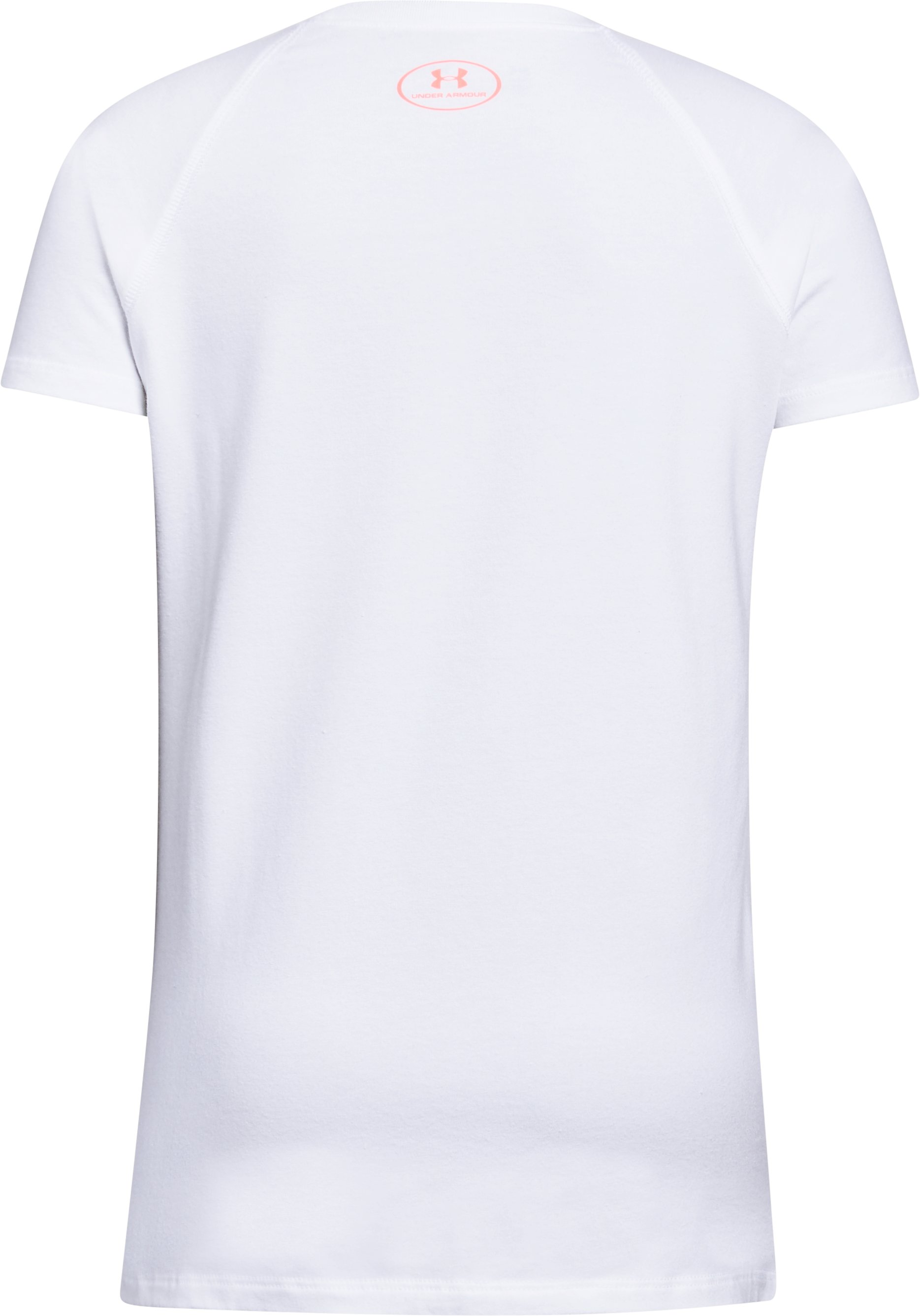 Girls' UA Own Your Style T-Shirt, White,