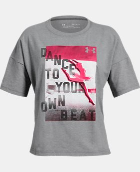 Girls' UA Dance To Your Own Beat T-Shirt  1 Color $20
