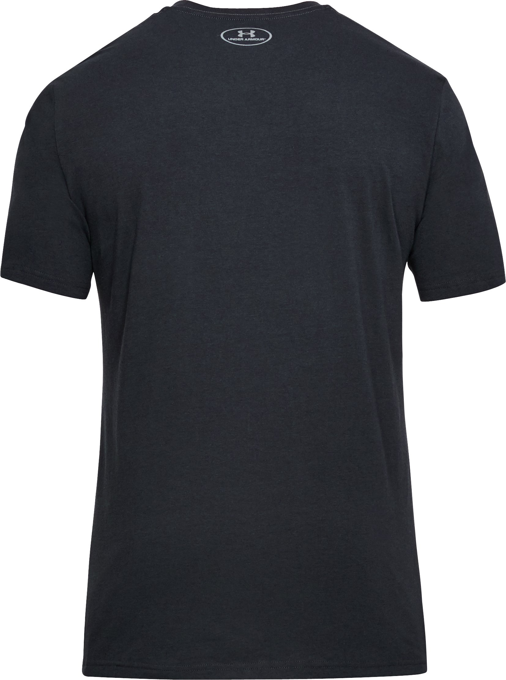 Men's UA Radar Football T-Shirt, Black ,