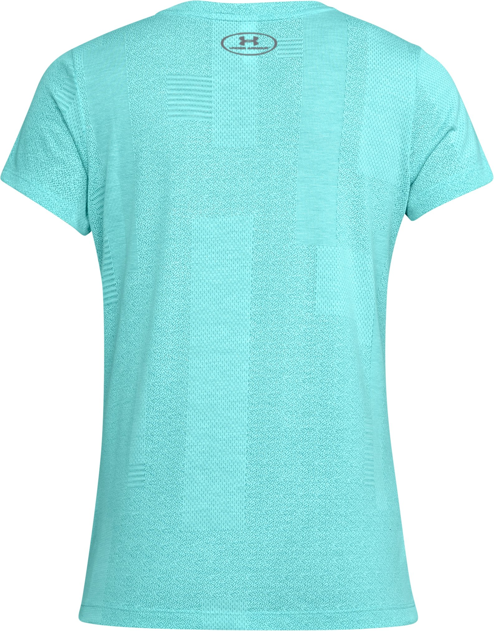 Women's UA Siro Jacquard Short Sleeve, TROPICAL TIDE,