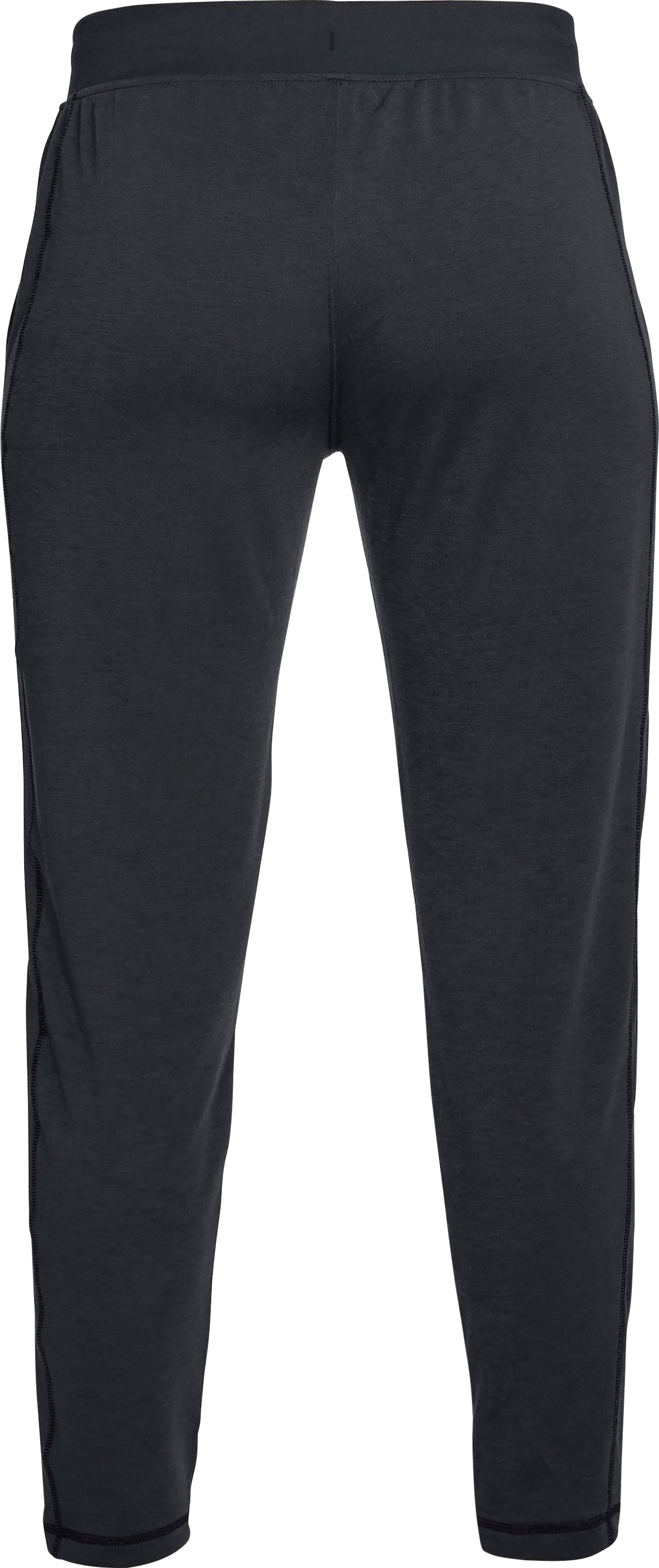 Women's UA Microthread Train Pants, Black ,