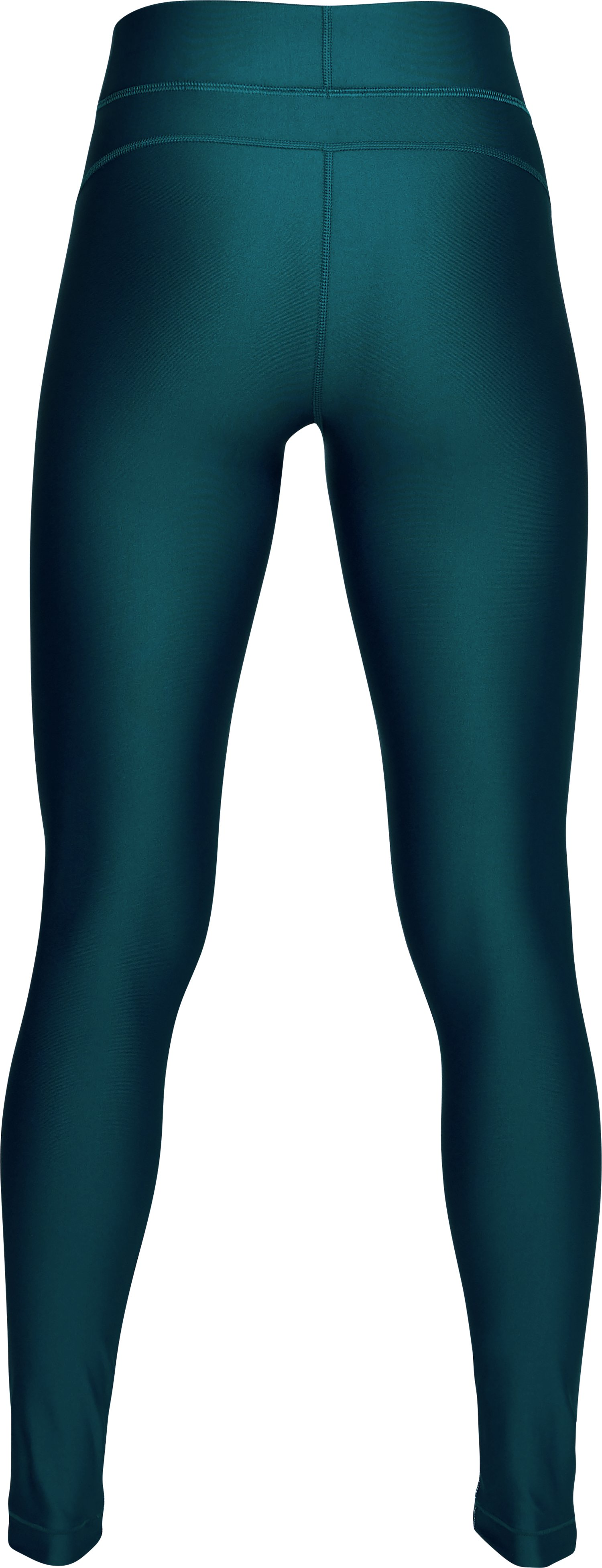 Women's HeatGear® Armour Printed Leggings, TOURMALINE TEAL,