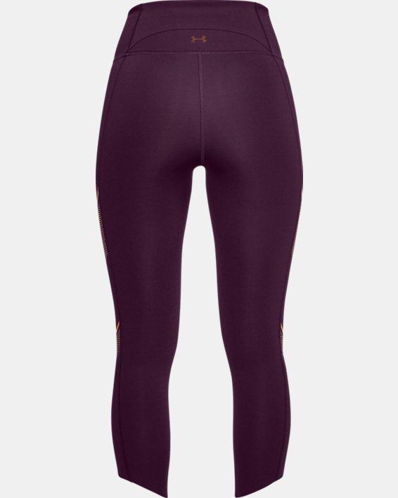 Women's UA Breathelux Metallic Crop, Purple, pdpMainDesktop image number 5