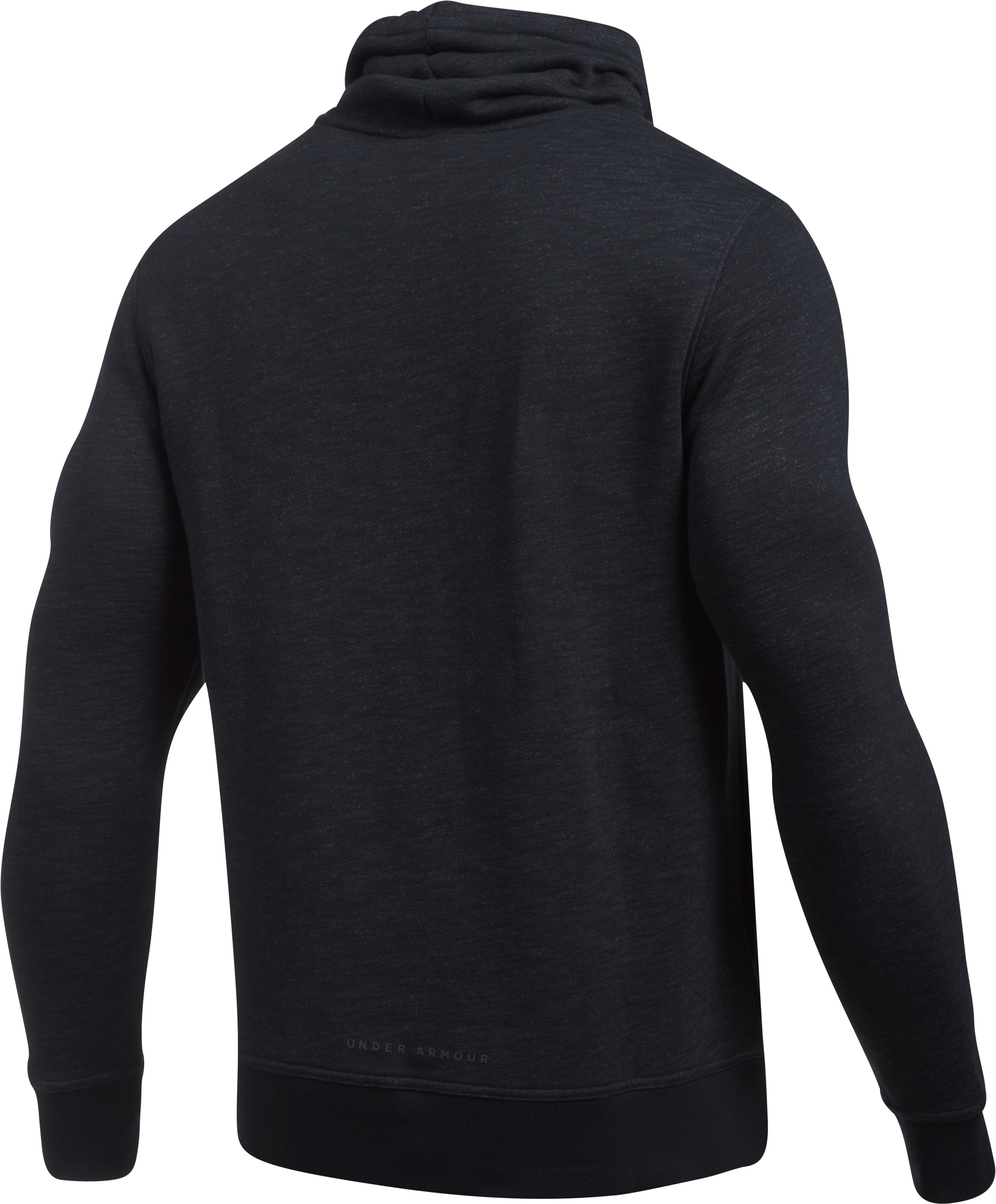 Men's UA Baseline Funnel Neck, Black , undefined