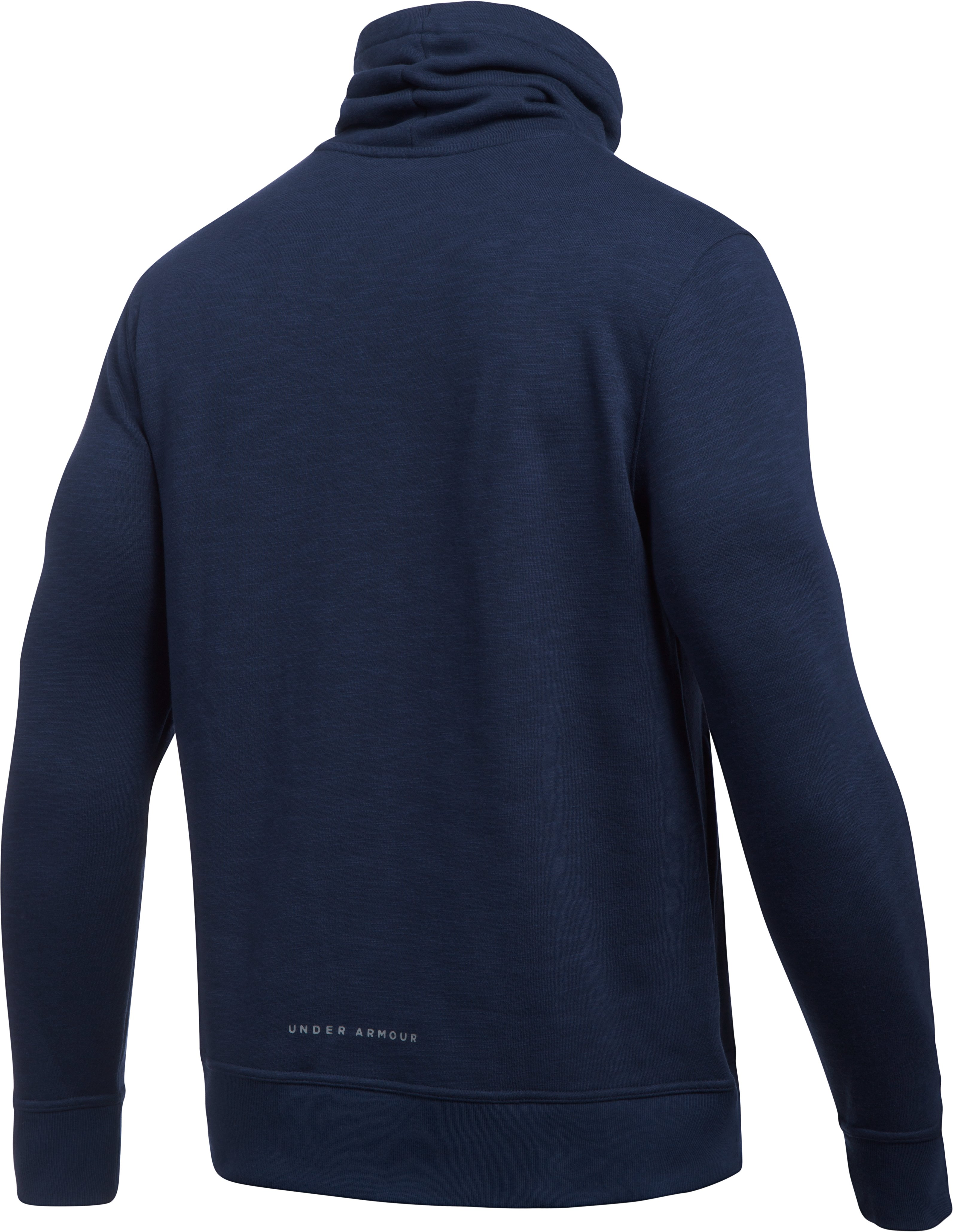 Men's UA Baseline Funnel Neck, Midnight Navy, undefined