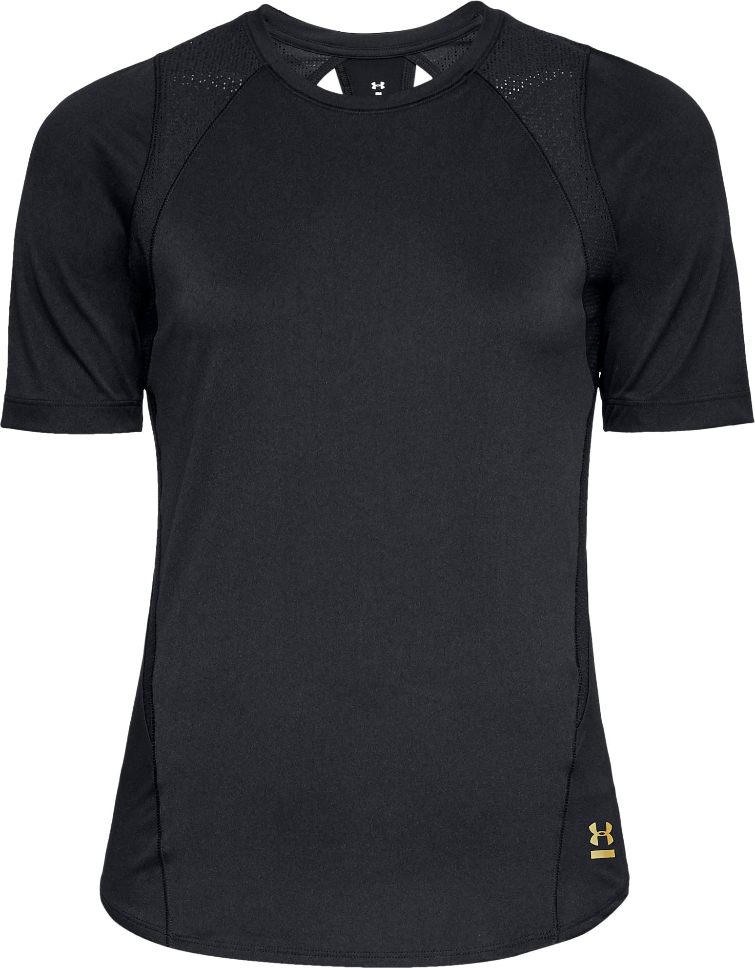 Women's UA Perpetual Short Sleeve, Black ,