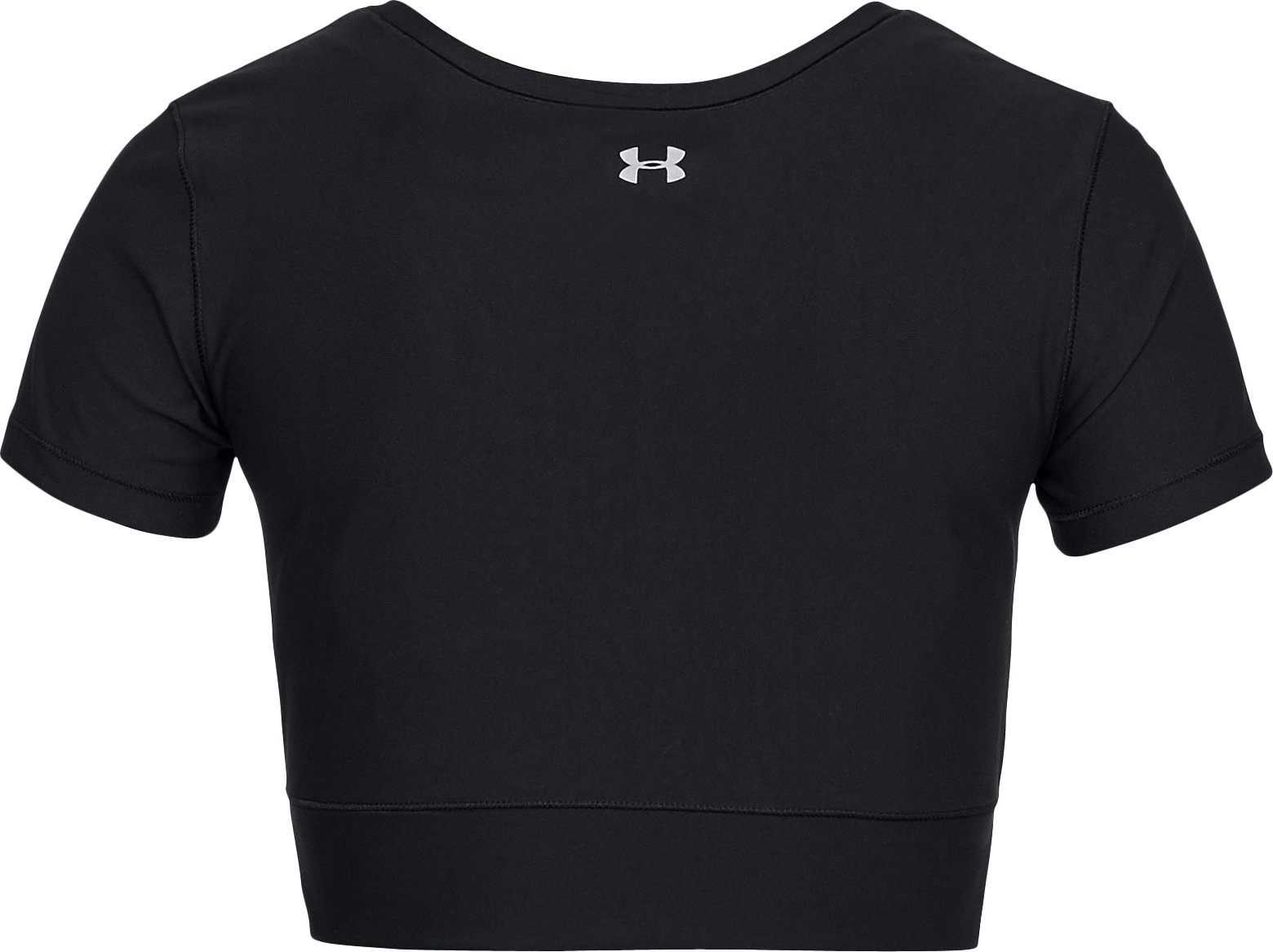Women's UA Vanish Crop Tee, Black ,