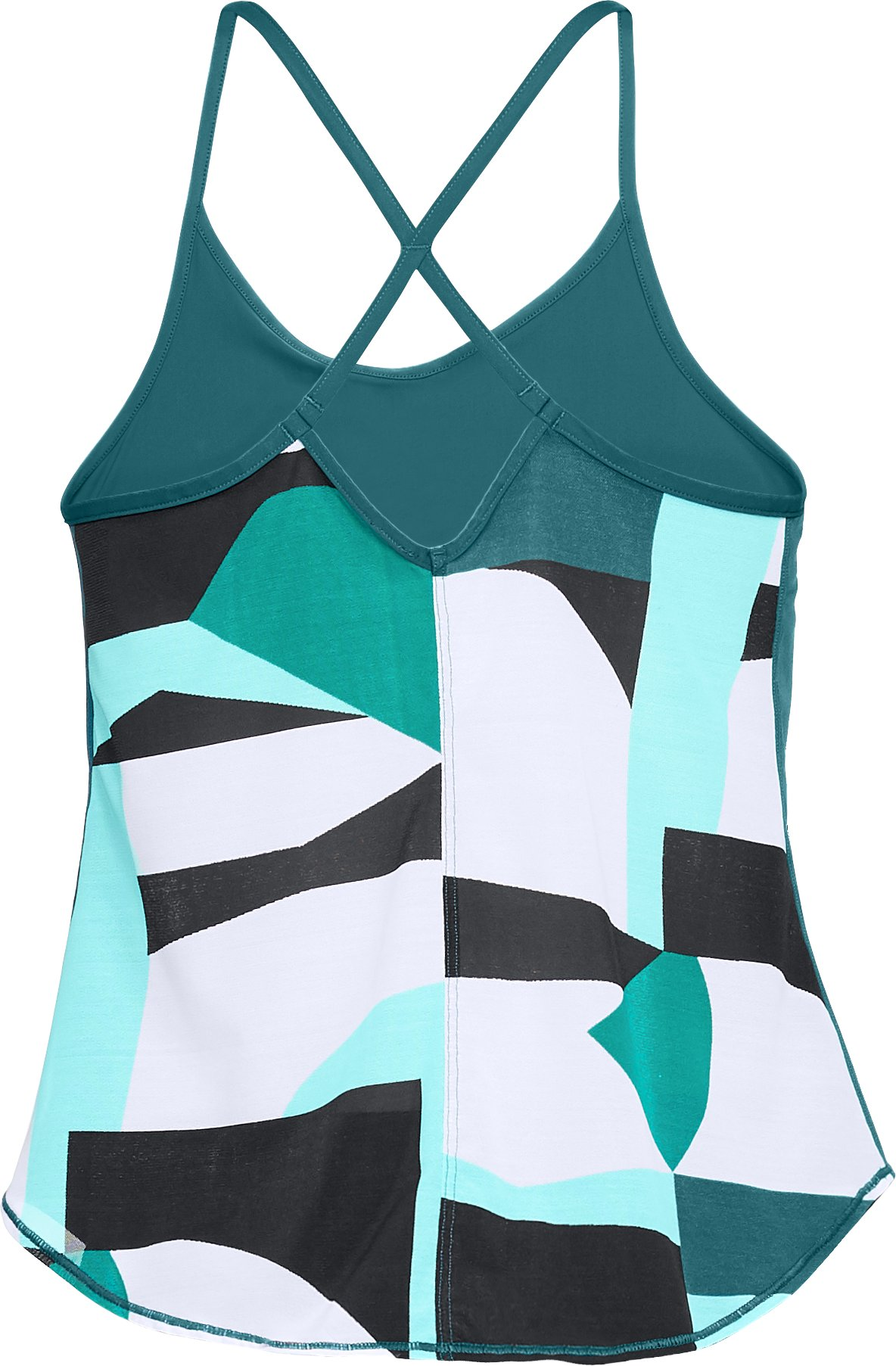 Women's UA Free Cut Strappy Tank, TOURMALINE TEAL,