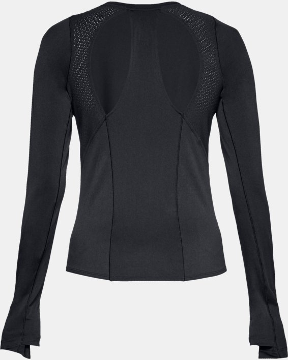 Women's UA Perpetual Long Sleeve, Black, pdpMainDesktop image number 5