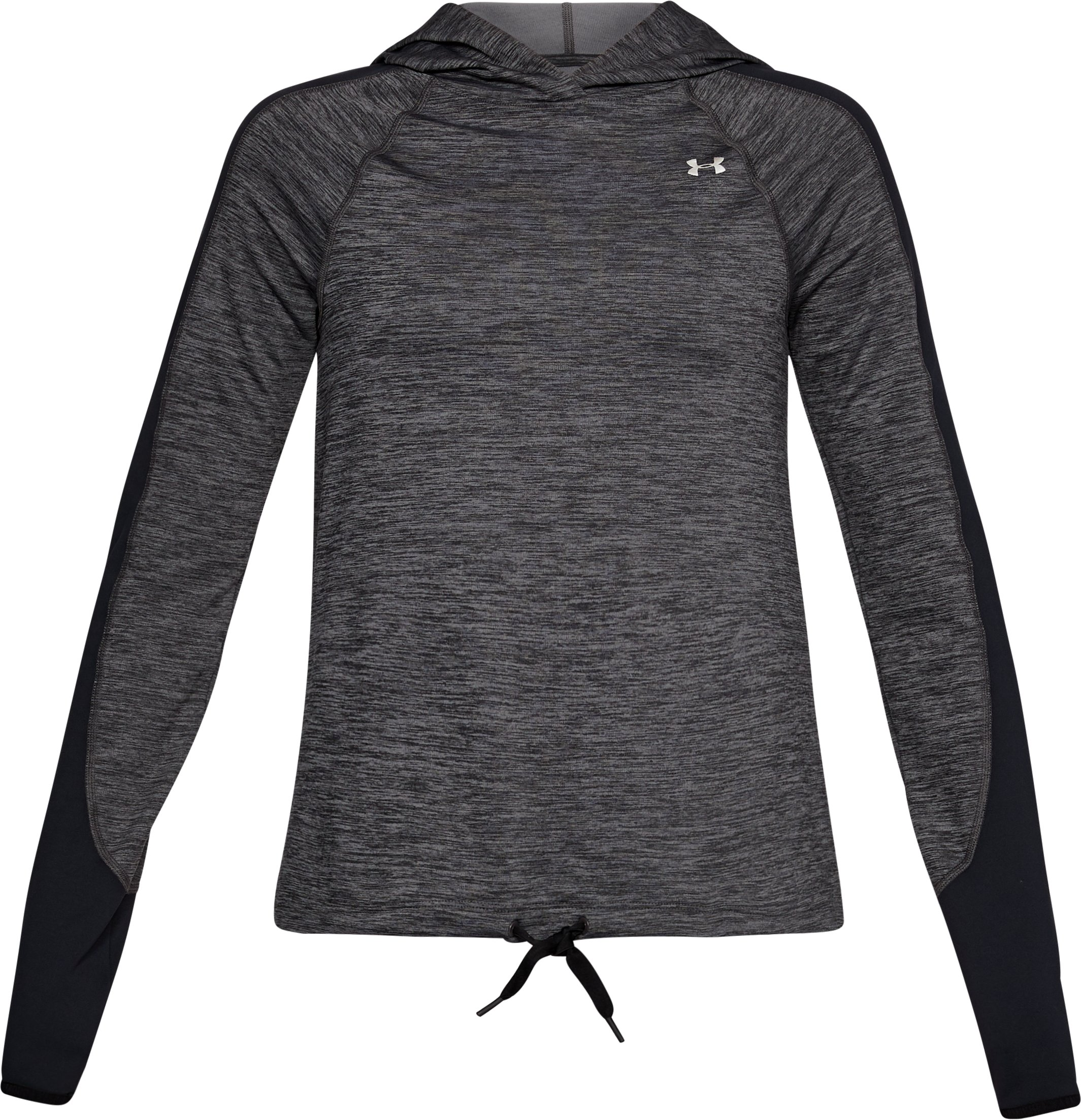 Women's ColdGear® Armour Pullover, CHARCOAL FULL HEATHER, undefined