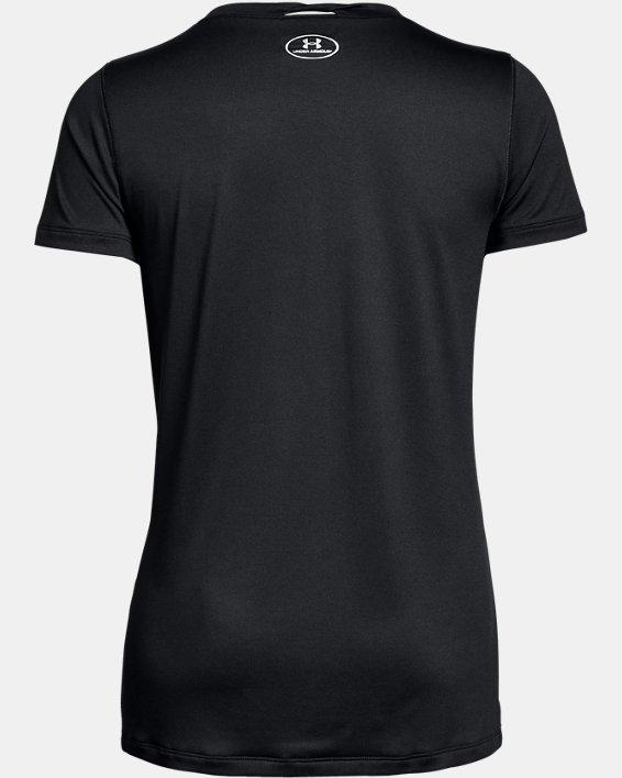Women's UA Locker T-Shirt, Black, pdpMainDesktop image number 4