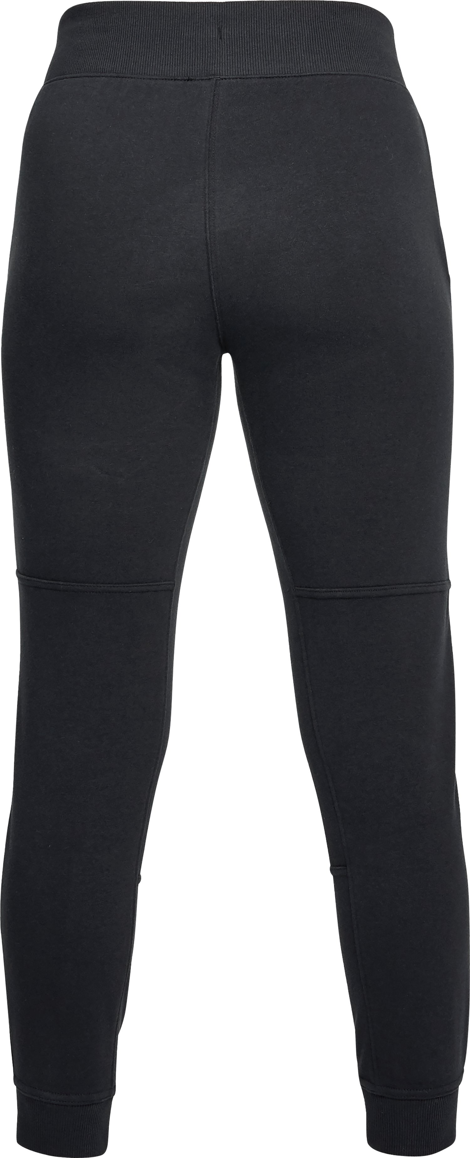 Women's UA Microthread Terry Pants, Black ,